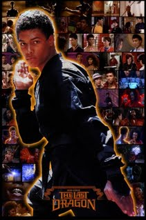 The Last Dragon Bruce Leroy Collage