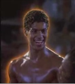 The Last Dragon Bruce Leroy Glowing
