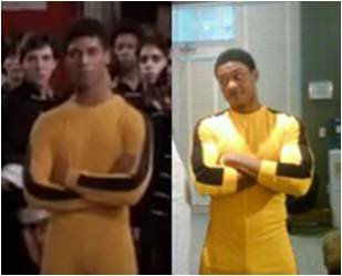 Pooch Hall in the famous Yellow Jump Suit Bruce Leroy The Last Dragon