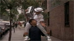 Leroy Carries Richie on Shoulders and Raps The Last Dragon
