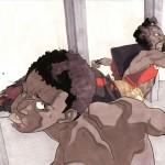 Bruce Leroy vs Sho'nuff by Shaun O'neil
