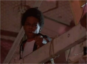 Leo O'Brien as Richie Green in The Last Dragon get your hands off my women