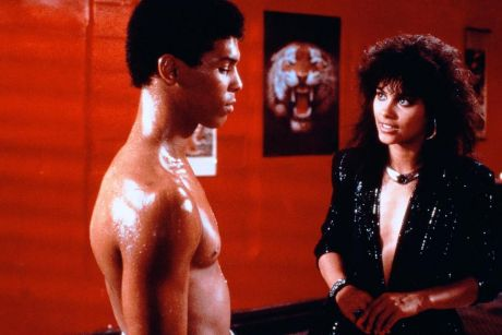 Vanity and Taimak in The Last Dragon