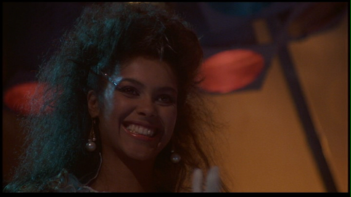 "Denise ""Vanity"" Matthews as Laura Charles in The Last Dragon"