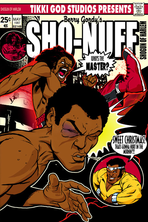 SHONUFF Comic_by_elliotfernandez