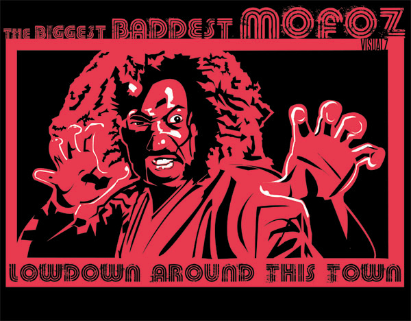 Shonuff the Baddest Mofo Lowdown Around this Town