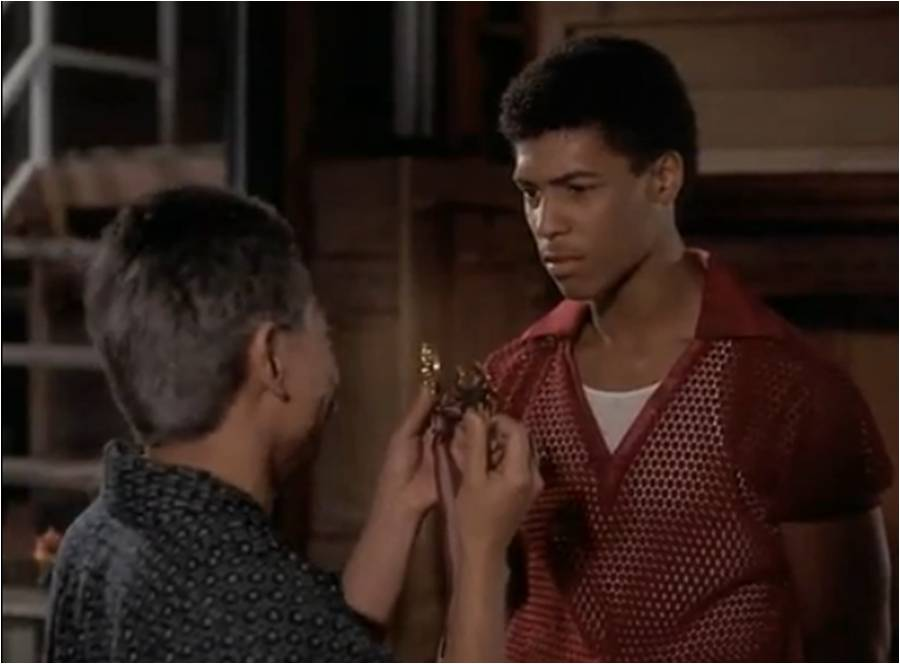 You needed a Charm - The Last Dragon