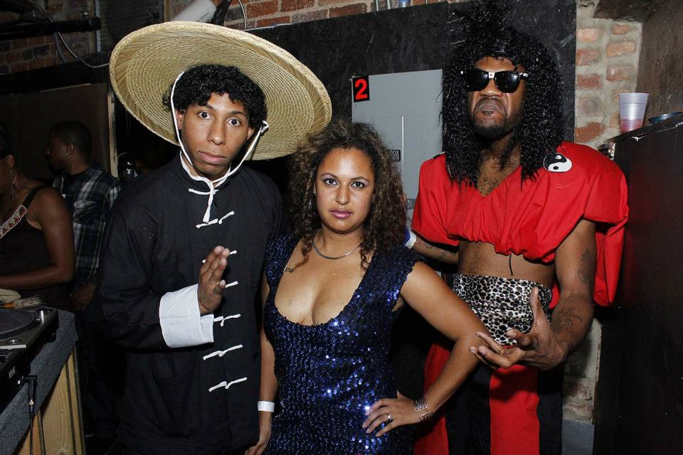 Bruce Leroy, Laura Charles & Shonuff Halloween costumes