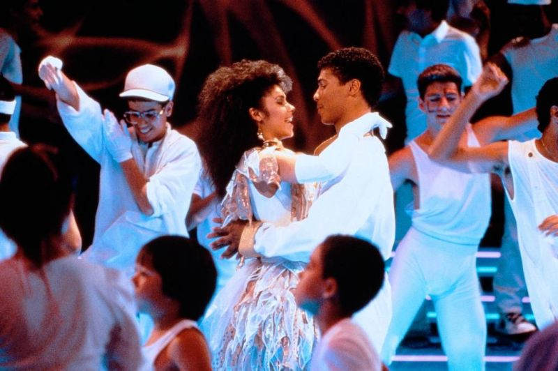 Leroy and Laura Final Scene All White Party The Last Dragon