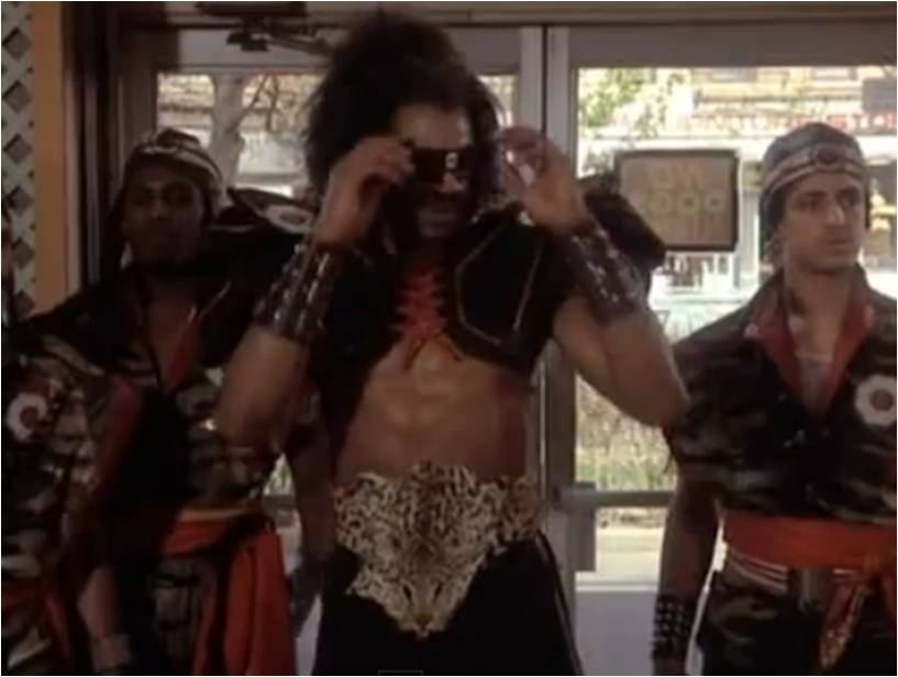 Shonuff with Black Shoulder Pads The Last Dragon