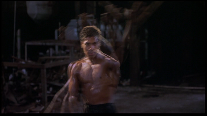Bruce Leroy famous Bruce Lee Slow Motion Arm Thingy While Glowing