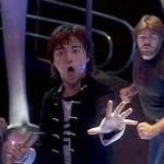 Glen Eaton as Johhny Yu using Nunchuks in The Last Dragon 7th Heaven Fight Scene