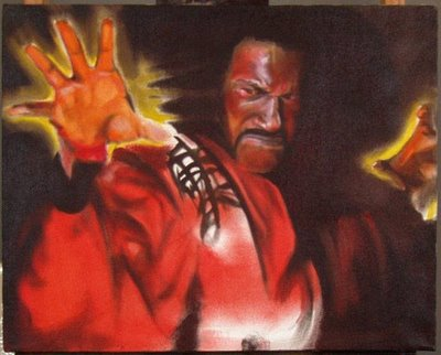 Shonuff Art by Matt Hooker