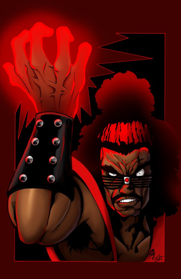 Who's the Master by Stalk and Richard Wilson The Last Dragon Artwork | Shonuff