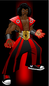 Sho'nuff The Shogun of Harlem made by Sircle with Adobe Ilustrator