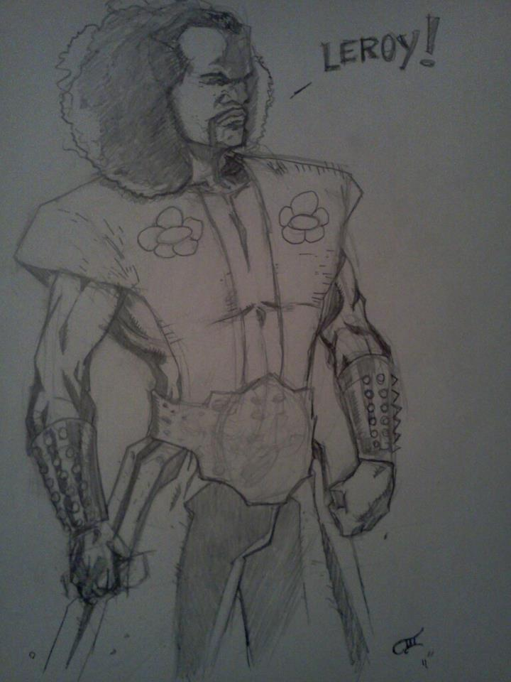 """LEROY"" ~Sho'nuff from The Last Dragon"