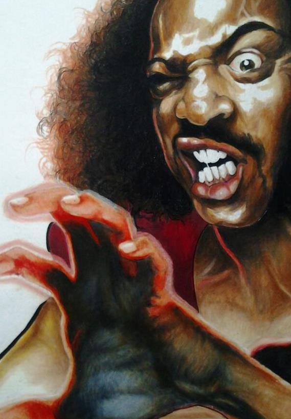 Sho'nuff The Shogun of Harlem from The Last Dragon by Aniekan Udofia