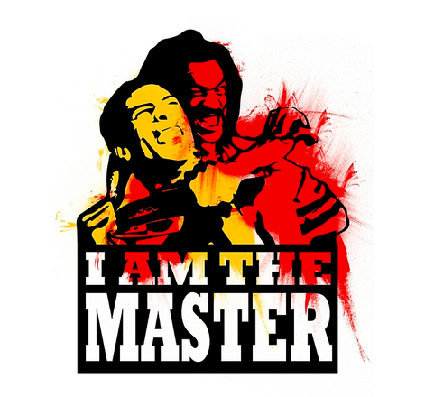I-AM-THE-MASTER-by-troy-perry-Shonuff-The-Last-Dragon-T-Shirt