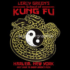 Buy The Last Dragon Bruce Leroy Kung Fu School T-Shirt