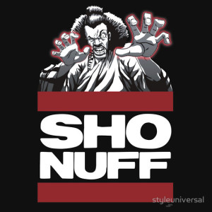 Sho'nuff Run DMC Style T-Shirt by StyleUniversal