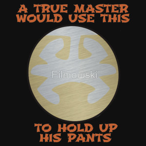 True Master whould use this to hold up his pants - Last Dragon TShirt by Filmowski