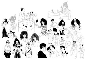 The Last Dragon Sketches by Matt Hennen