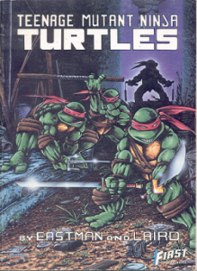 TMNT Graphic Novel by Eastman & Laird (1986)