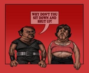 Tough Guys in Last Dragon Movie Theater Scene