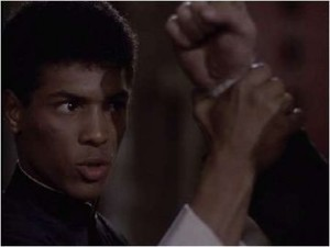 The Last Dragon Taimak Catches Thugs Punch