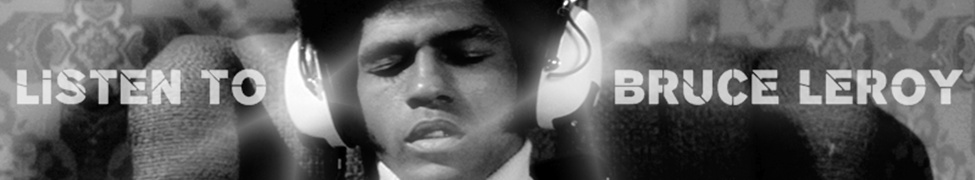 Enter The Dragon's Jim Kelly with Headphones Listening to Bruce Leroy