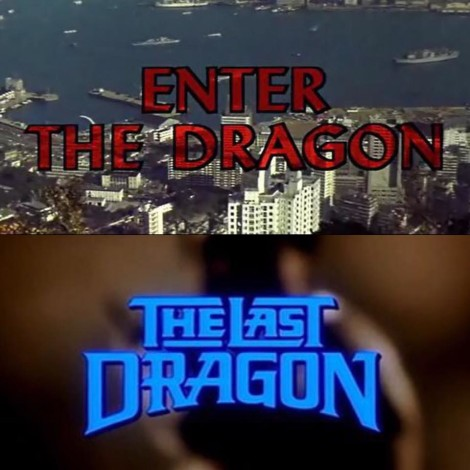 Homages to Bruce Lee in The Last Dragon