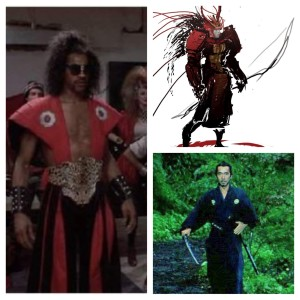 Sho'nuff Style Inspired by Japanese Samurai.