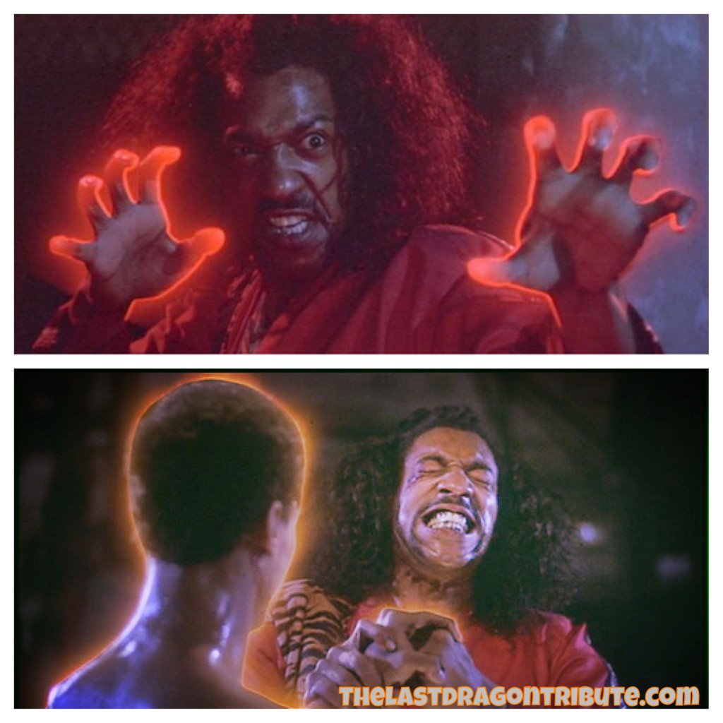 Sho'nuff Red Glow vs Bruce Leroy's Orange Glow - The Last Dragon