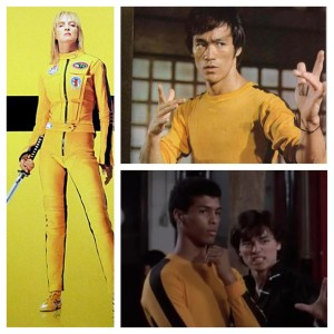 Yellow Jump Suit Quentin Tarantino & Bruce Leroy's Homage to Bruce Lee