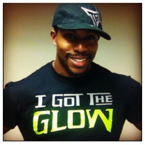 JDiezelFitness in The I Got The Glow T-Shirt inspired by The Last Dragon