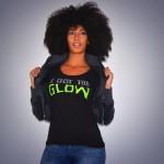 Addisa Bianca Goldman in I Got The Glow Last Dragon T-Shirt