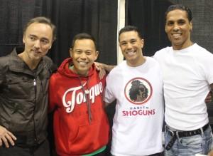 Glen Eaton, Ernie Reyes Jr, Craig Sutton & Taimak