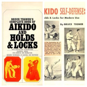Bruce Tegner's Book and Poster of Aikido and Holds and Locks