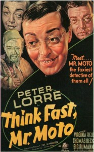 Think Fast, Mr. Moto Movie Poster 1937