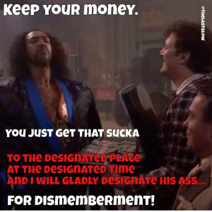 Keep you Money - Shonuff The Last Dragon