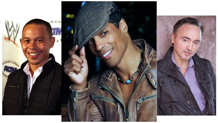 Ernie Reyes Jr, Taimak and Glen Eaton - The Last Dragon Reunion 2014
