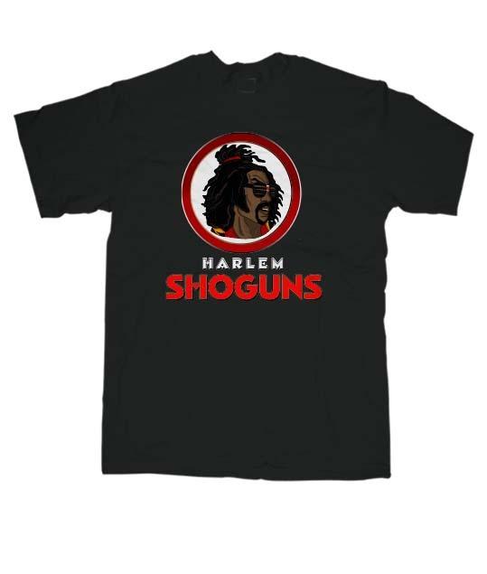 Harlem Shoguns Black T-Shirt