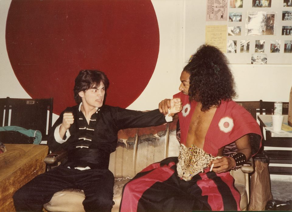 Johnny Yu and Sho'nuff Behind the Scenes Knuckle Sandwich - The Last Dragon