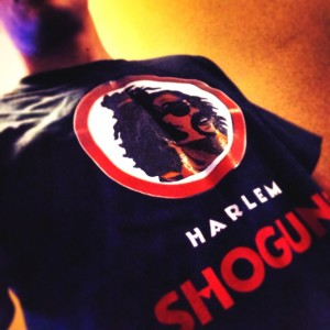 Shonuff Harlem Shoguns T-Shirt - Model