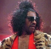 Sho'nuff enters the movie theatre - The Last Dragon