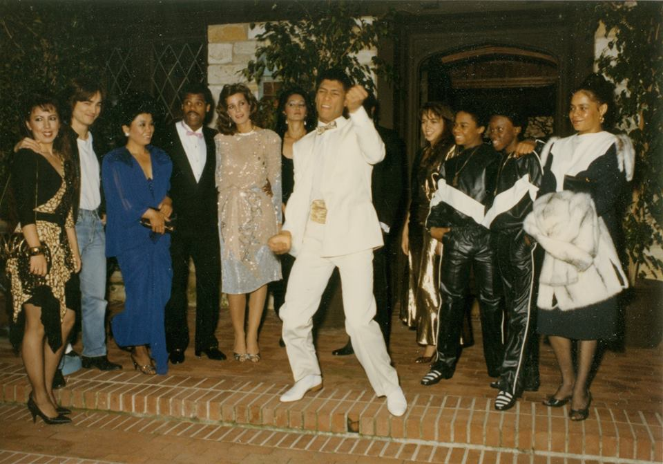 Taimak at The Last Dragon Premier