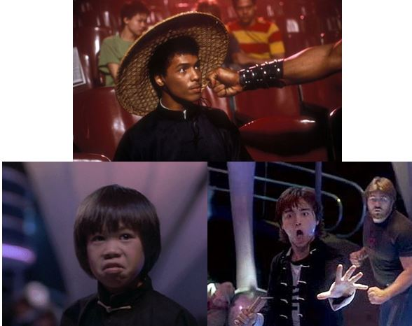 The Last Dragon - Bruce Leroy - Ernie Reyes - Johnny Yu