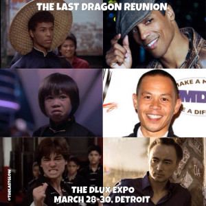 Bruce Leroy - Ernie Reyes Jr - Glen Eaton reunited at the D-Lux Expo March 28-30, 2014