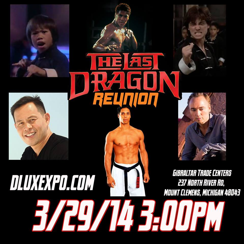 The Last Dragon Reunion March 29 2014 - D-Lux Expo Detroit Michigan