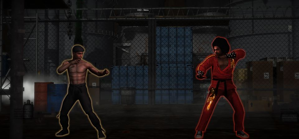 Bruce Leroy vs Shonuff - Kings of KungFu Video Game